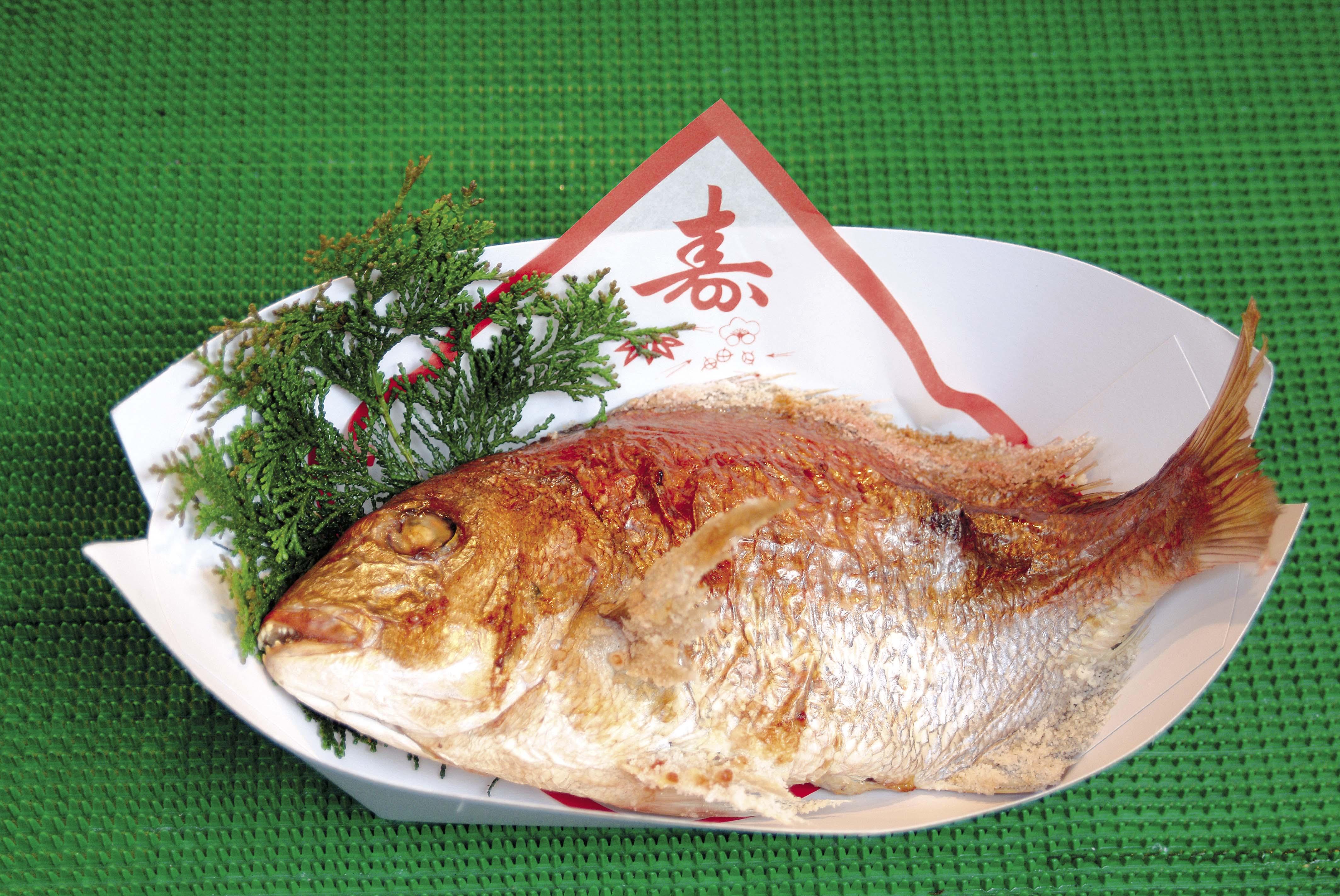 明石鯛(焼鯛)